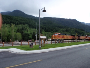Train in Skykomish