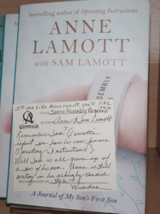 Cover of Some Assembly Required by Anne Lamott