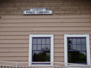 Langley Public Library, Whidby Island