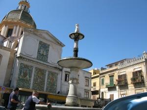 Piazza in Carini, Sicily