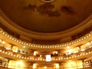 El Ateneo ceiling