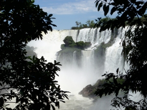 Waterfalls at Iguazu
