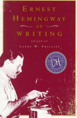 Ernest Hemingway on Writing book cover