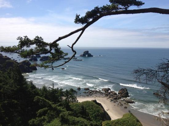 Pacific Coast beach, Oregon