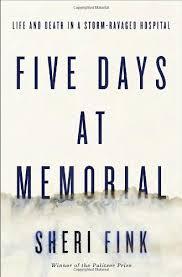 Five Days at Memorial book cover