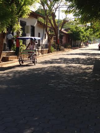 Street in El Sauce, Nicaragua