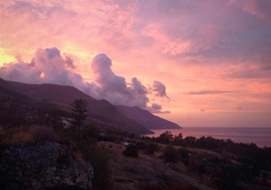 Scopello sunset