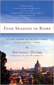 Four Seasons in Rome book cover