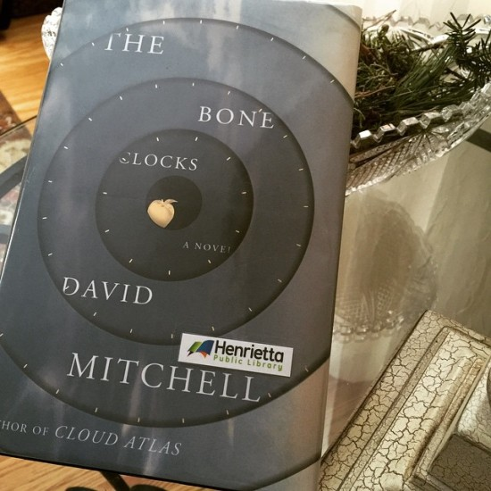The Bone Clocks book cover