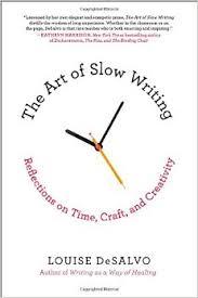 The Art of Slow Writing book cover