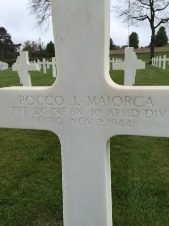 White cross, gravesite